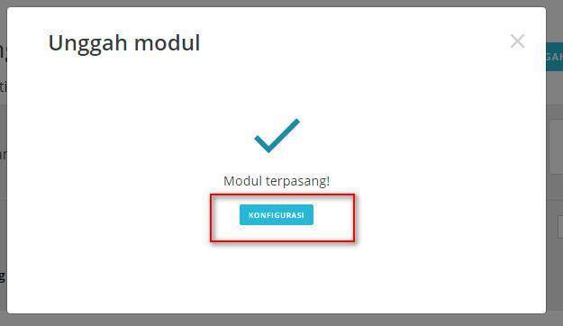 Konfigurasi modul