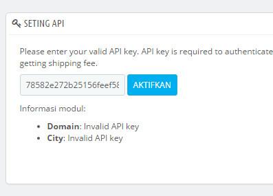 Setup API