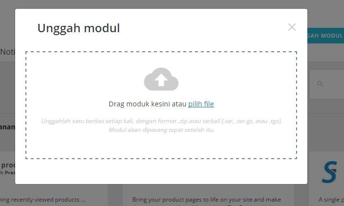Upload modul